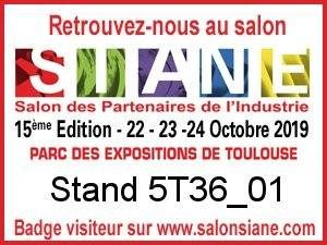 Optifluides au Salon SIANE 2019